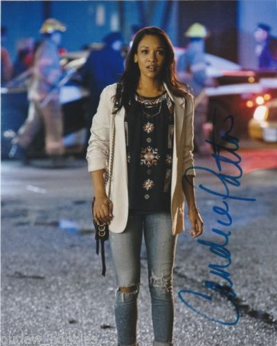 The Flash Candice Patton Autographed Signed 8x10 Photo COA F