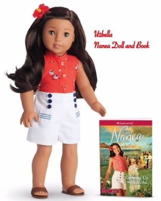 American girl Doll Nanea and Book New in Box 18 inch Doll