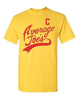 Average Joe's Movie Costume Dodge ball Halloween Novelty Adult DT T-Shirt - Average Joe's Halloween