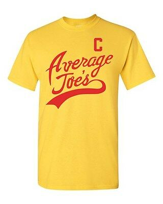 Average Joe's Movie Costume Dodge ball Halloween Novelty Adult DT T-Shirt Tee - Average Joe's Halloween