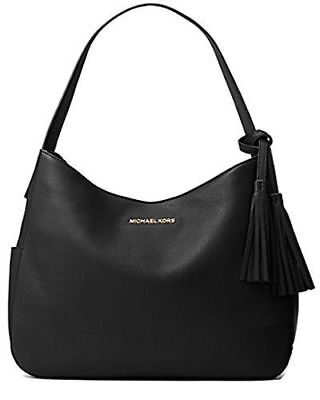 Large Pebble - NWT Michael Kors Ashbury Large Pebble Leather Shoulder Hobo Hand Bag Black New