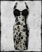 50'S Style Halterneck Dress
