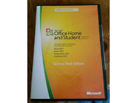 Microsoft Office Home And Student 2007 Service Desk Edition,For Upto 3 Pc's.