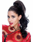 Ponytail Dark Brown Long Wigs & Hairpieces