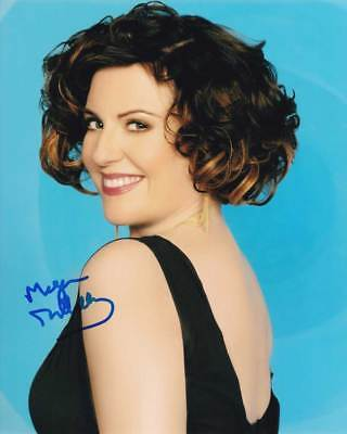 Megan Mullally In Person Authentic Autographed Photo Coa Will   Grace Sha  16741