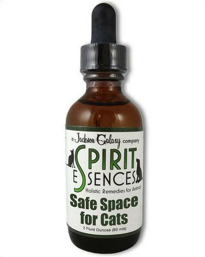 Jackson Galaxy  Solutions-SAFE SPACE for CATS! 2oz Bottle FREE SPRAY TOP