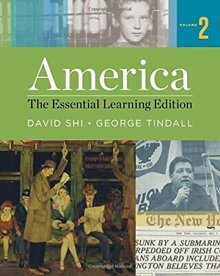 America The Essential Learning Edition Volume 2 by David (America The Essential Learning Edition Volume 2)