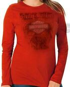 Womens Harley Davidson Long Sleeve T Shirt