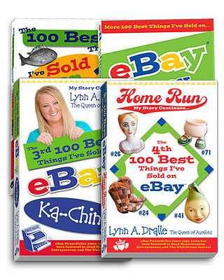 All 4 100 Best Things I've Sold on eBay Books Series Lynn Dralle How to Sell (Best To Sell On Ebay)