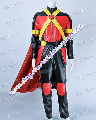 Young Justice Cosplay Red Robin Tim Drake Uniform Costume Halloween High - Drake Halloween Costume
