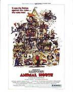 Animal House Signed
