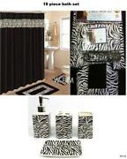 leopard bathroom set  ebay, Bathroom decor