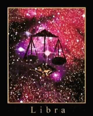 16 X 20 INCH ART PRINT POSTER LIBRA SCALES