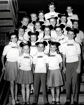 1956 Mickey Mouse Club Photo 8X10 - Annette Cubby Jimmie  Buy Any 2 Get 1 FREE