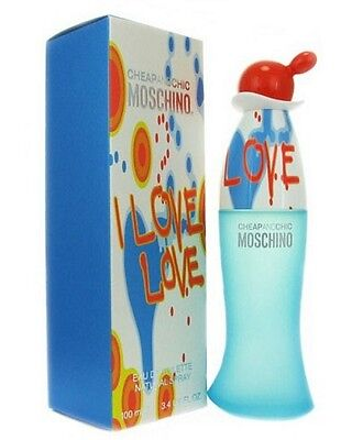 I Love Love By Moschino 3 4 Oz Edt Perfume For Women New In Box