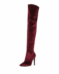 NEW With box KENDALL KYLIE Over the Knee Velvet Boots!! 9