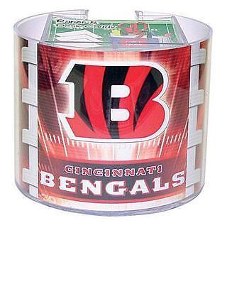 (Cincinnati Bengals Team Logo Desk Caddy with 750 Sheet Note Pad)