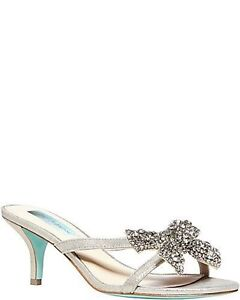 Size 7.5 Betsey Johnson Wedding Shoes