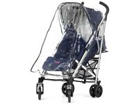 Mutsy Easy Rider stroller pushchair RAINCOVER (will fit Maclaren Quest, Urbo Bug) CAN POST