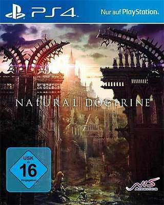 Sony PS4 Playstation 4 Spiel ***** Natural Doctrine ******************NEU*NEW*55 (Ps4 Natural Doctrine)