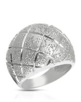 Lovely made In Italy Sterling Silver Ladies ring