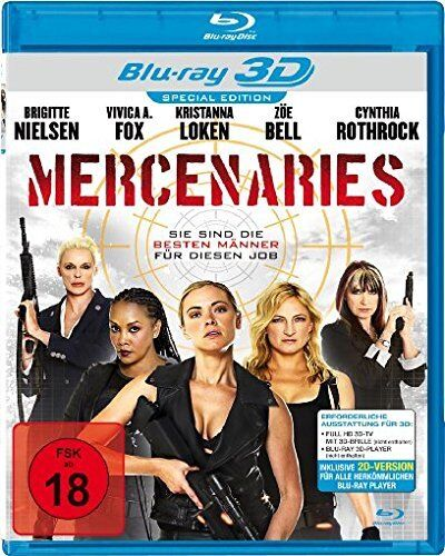 Women Expendables - Mercenaries in 3D ( Actionfilm BLU-RAY ) Cynthia Rothrock