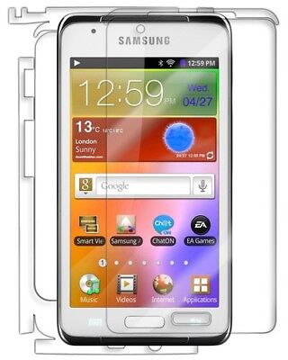 Skinomi Clear Full Body Protector Film Cover for Samsung Galaxy Player 4.2 Body Protector Film