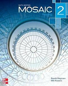Used Mosaic 2 Reading Student Book North Shore Greater Vancouver Area image 1