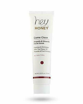 Hey Honey ComePropolis&Minerals Facial Scrub  2.2oz /70ml