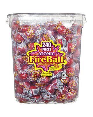 Atomic Fireballs Candy, 4.05 Pound Bulk Candy Bag