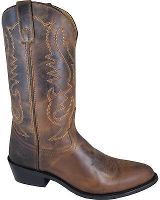 MEN'S SMOKY MOUNTAIN DENVER WESTERN BOOTS (Smoky Mountain Boots Mens Denver Leather Western Boot)