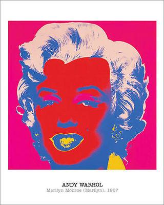 ANDY WARHOL - Marilyn Monroe, 1967 POP ART PRINT Offset Lithograph Poster 16x20