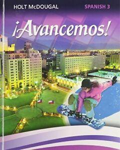 Â¡Avancemos!: Student Edition Level 3 2013 (Spanish Edition) by HOLT MCDOUGAL