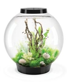 Bio orb fish tank with pump and heater