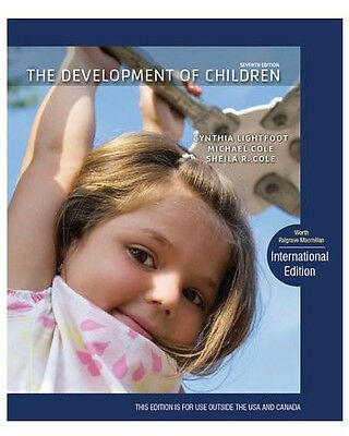 NEW Free Ship - The Development of Children by Cynthia Lightfoot (7th Edition) on Rummage