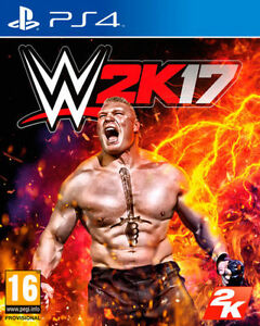 WWE 2K17 PS4 100% Brand New and Still Sealed!!!