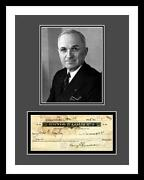 Harry Truman Signed