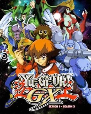 DVD Yu Gi Oh ! Gx Season.1-3 English Dubbed and Subtitle Japanese Anime