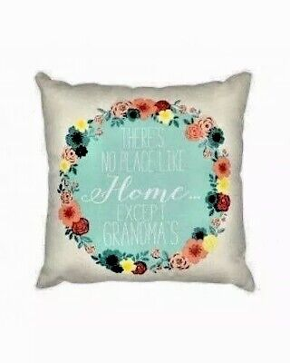 There's No Place Like Home Except Grandma's Decorative Throw Pillow Grandma - Grandma Throw Pillow