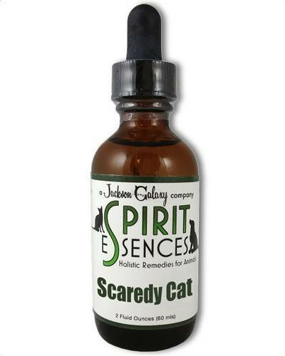 Jackson Galaxy Solutions-SCAREDY CAT for CATS! 2oz Bottle FREE SPRAY TOP