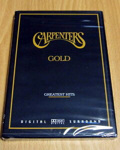 Carpenters - Gold Greatest Hits NEW DVD