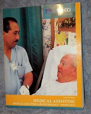 Medical Assisting  Law  Ethics  Psychology Module G Corinthian Colleges Text