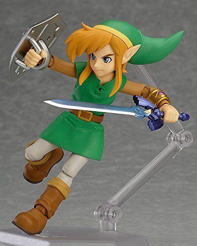 Legend of Zelda >>LINK BETWEEN WORLDS<< Good Smile Company Figma Nintendo Figur