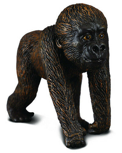 FREE SHIPPING | CollectA 88088 Western Gorilla Baby Toy Ape - New in Package