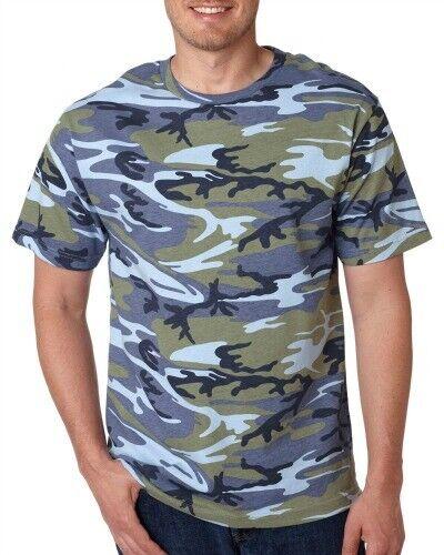 Men's Camo short sleeve T-Shirt 6 patterns Sm To 4x 7