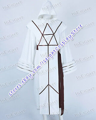 Star Trek IV The Voyage Home Cosplay Spock Costume White Robe Halloween Party - Star Trek Halloween Party