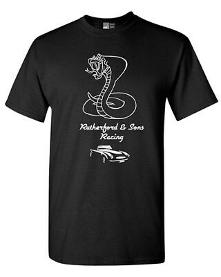 Rutherford & Sons Racing Cobra Lone Star Hot Car Sports DT Adult T-Shirt Tee