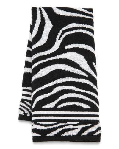 Black And White Bathroom Towel Sets: Black And White Hand Towels