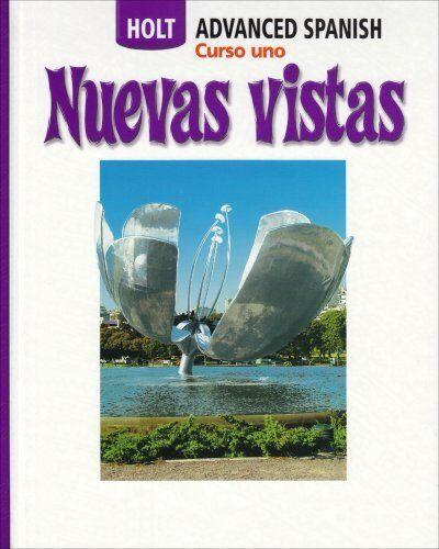 Nuevas Vistas Curso Uno By Rinehart And Winston Holt