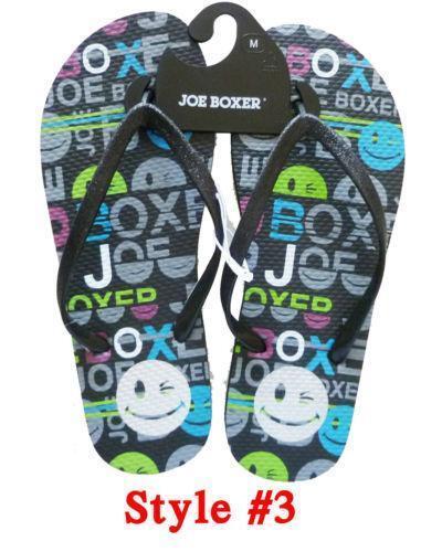 0cef95b3caa6 Joe Boxer Flip Flops